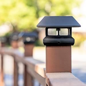 best solar post lamps