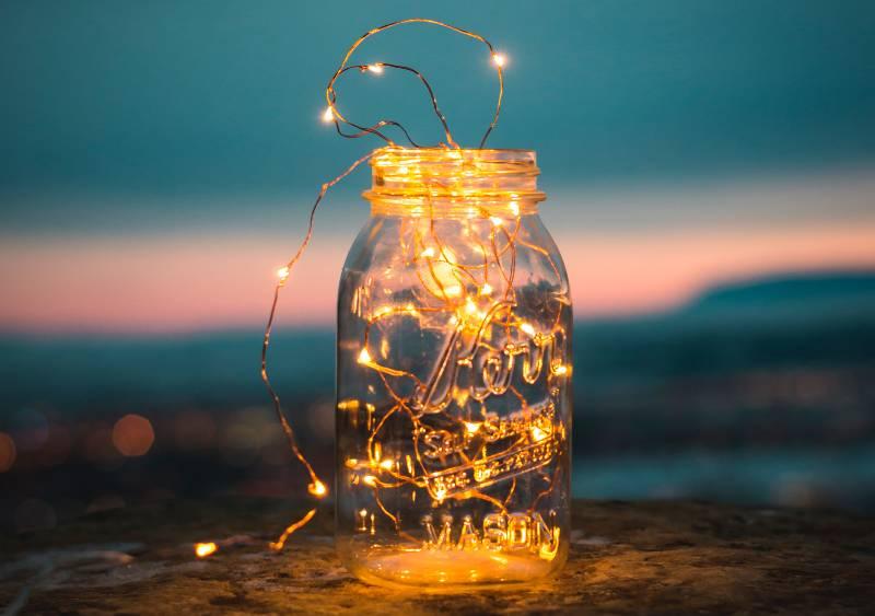 best solar powered mason jars