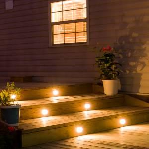 best solar power step lights