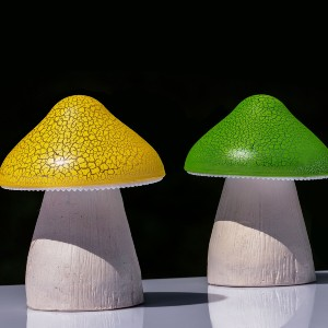 best solar powered mushroom lights