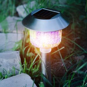 best solar light replacement spikes