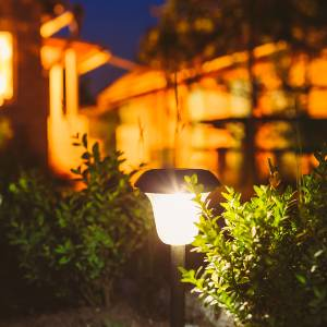 types of solar powered lights