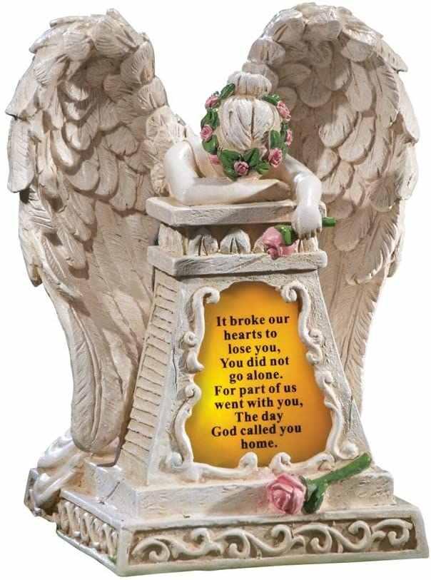 best solar angel lights