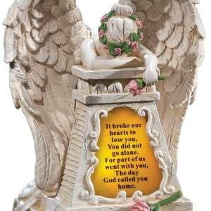 best solar angel statue