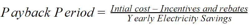 how to calculate your solar system payback period formula equation