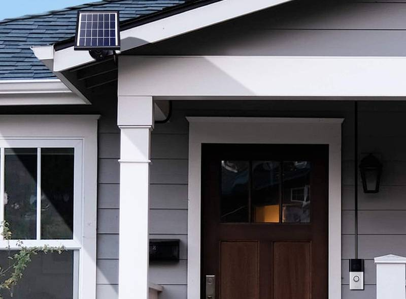 Best Ring Doorbell Solar Charger