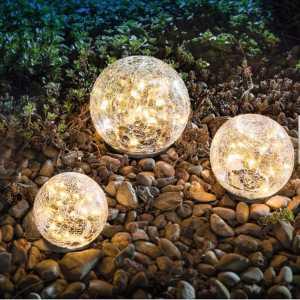best crackle solar lights