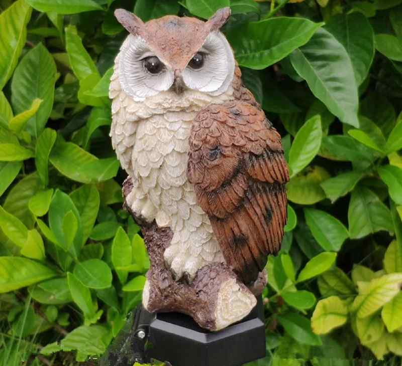 best owl solar light