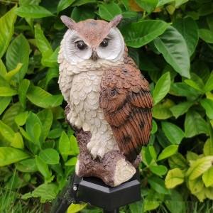 best owl solar statues