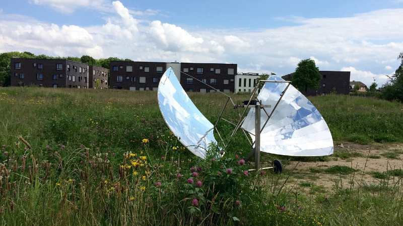 how to make a solar cooker