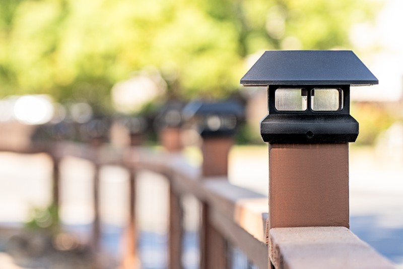 put your solar lights in a place where it gets a lot of direct sunlight