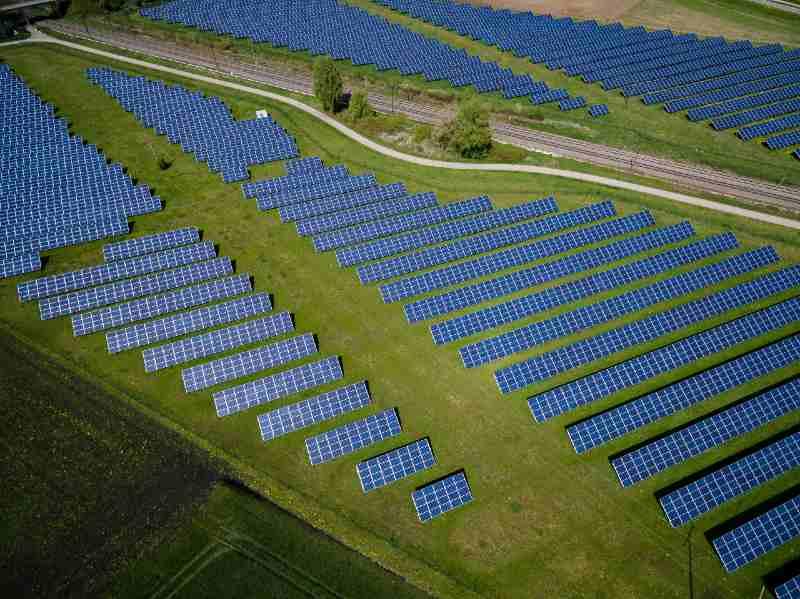 How Much Energy Does A Solar Farm Produce
