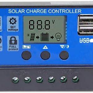 how does a pwm solar charge controller work