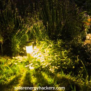 how to make cheap solar lights brighter