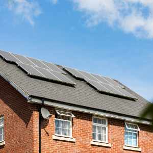 Solar Panels Wood Roof